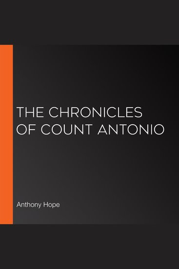 The Chronicles of Count Antonio - cover
