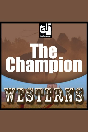 The Champion - cover