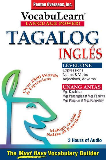 Vocabulearn: Tagalog English Level 1 - Bilingual Vocabulary Audio Series - cover