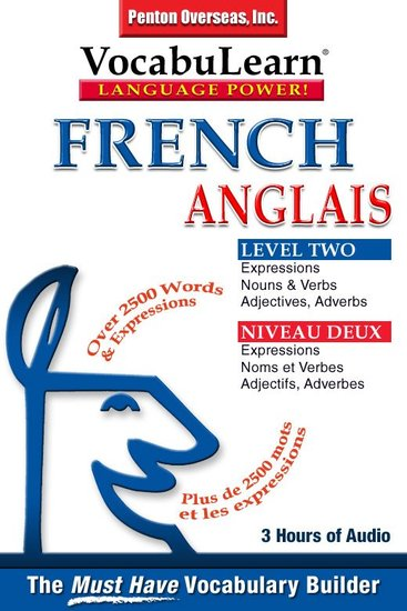 French English Level 2 - Bilingual Vocabulary Audio Series - cover