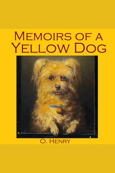 Memoirs of a Yellow Dog - cover