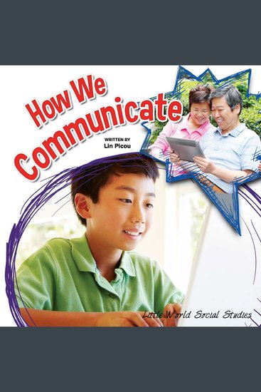 How We Communicate - cover