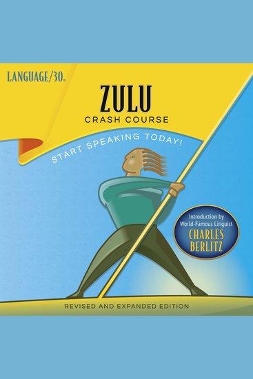 Zulu Crash Course - cover