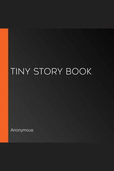 Tiny Story Book - cover