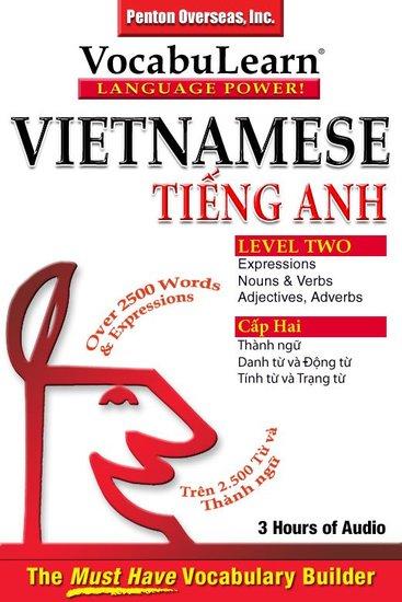 Vietnamese English Level 2 - Bilingual Vocabulary Audio Series - cover