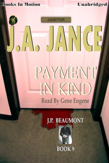 Payment in Kind - JP Beaumont Book 9 - cover