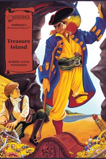 Treasure Island (A Graphic Novel Audio) - Illustrated Classics - cover