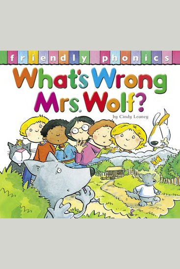 What's Wrong Mrs Wolf? - cover