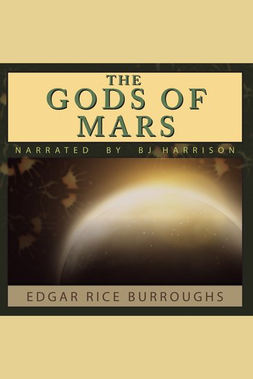 The Gods of Mars - Barsoom Book 2 - cover