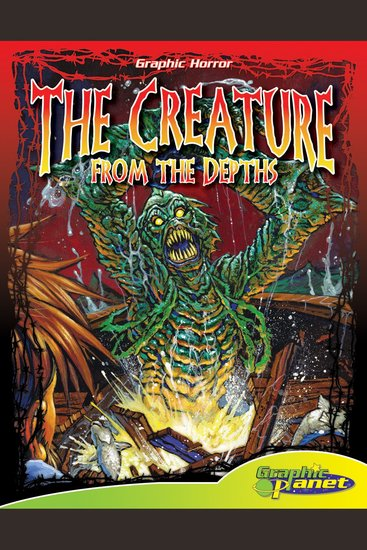 The Creature from the Depths - cover