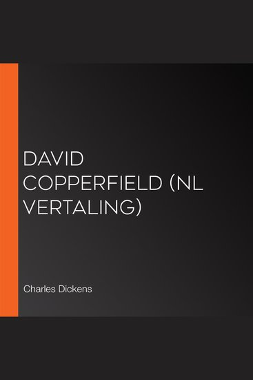 David Copperfield (NL vertaling) - cover