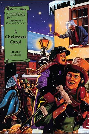 Christmas Carol A (A Graphic Novel Audio) - Illustrated Classics - cover