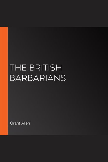 The British Barbarians - cover