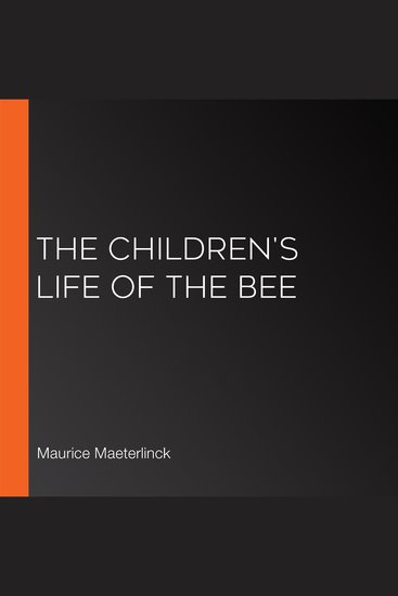 The Children's Life of the Bee - cover
