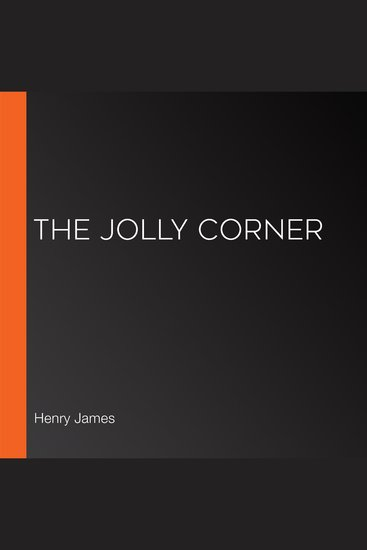 The Jolly Corner - cover