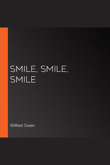 Smile Smile Smile - cover