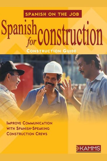 Spanish for Construction - cover
