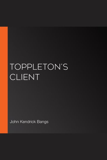 Toppleton's Client - cover