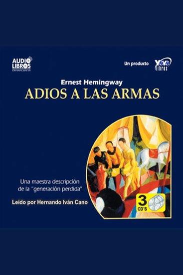 Adios A Las Armas - cover