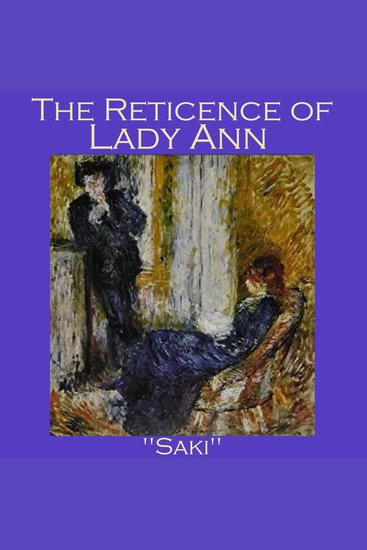 The Reticence of Lady Anne - cover