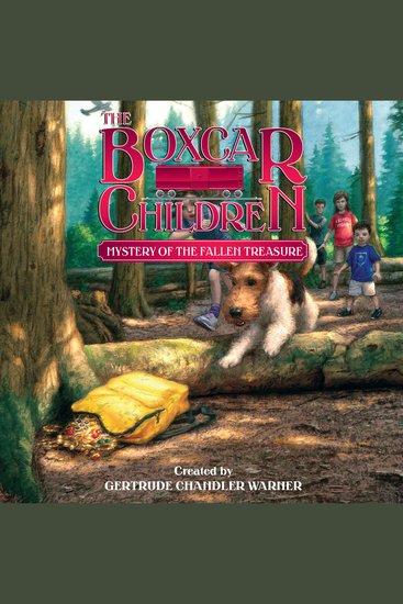 Mystery of the Fallen Treasure - cover