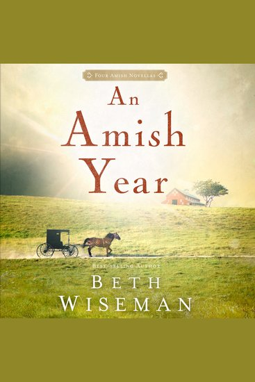 Amish Year An - Four Amish Novellas - cover
