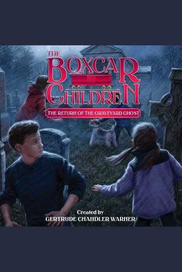 The Return of the Graveyard Ghost - cover