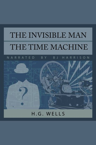 The Invisible Man Time Machine - cover