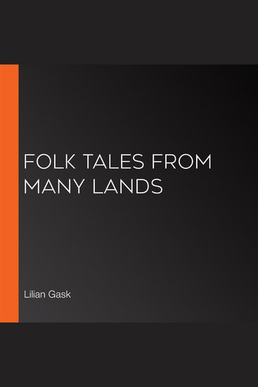Folk Tales from Many Lands - cover