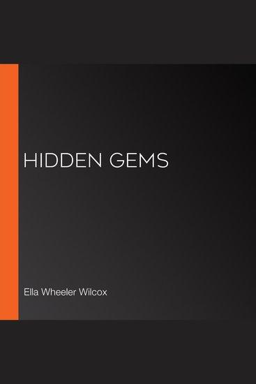 Hidden Gems - cover