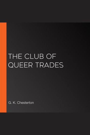 The Club of Queer Trades - cover