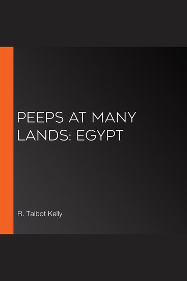 Peeps at Many Lands: Egypt - cover