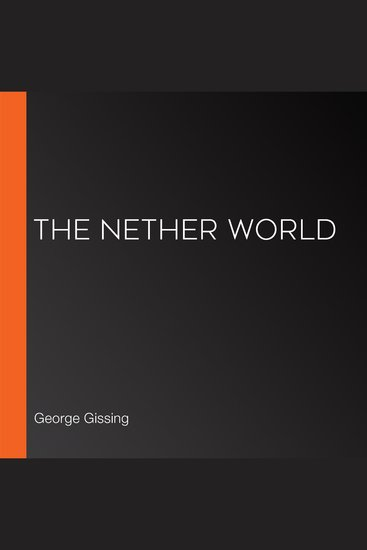 The Nether World - cover