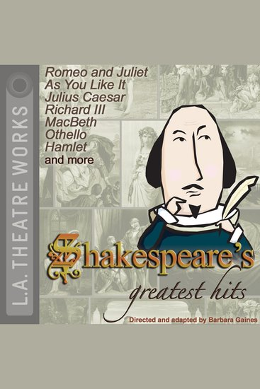 Shakespeare's Greatest Hits - cover