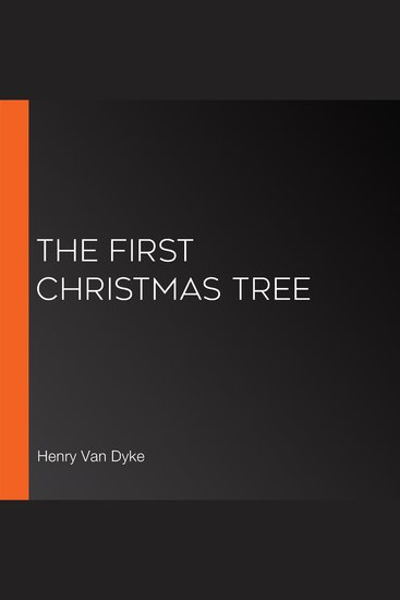 The First Christmas Tree - cover