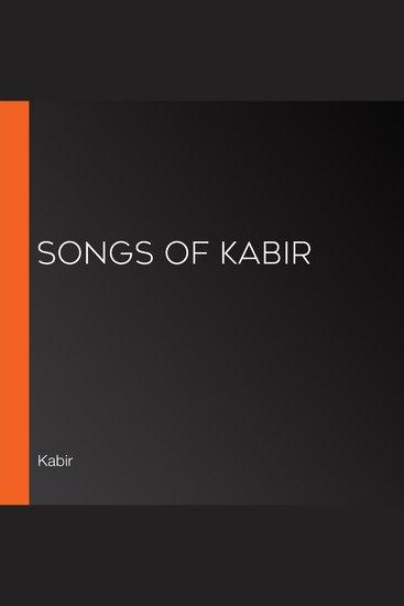 Songs of Kabir - cover