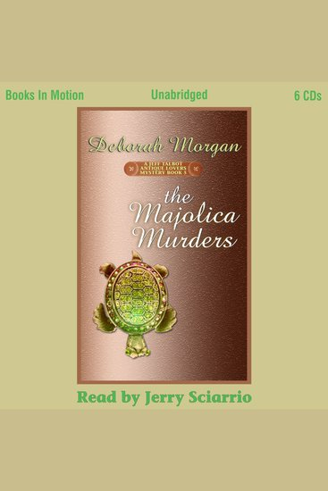 The Majolica Murders - cover