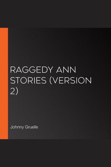 Raggedy Ann Stories (version 2) - cover