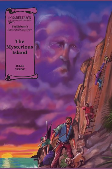 Mysterious Island The (A Graphic Novel Audio) - Illustrated Classics - cover