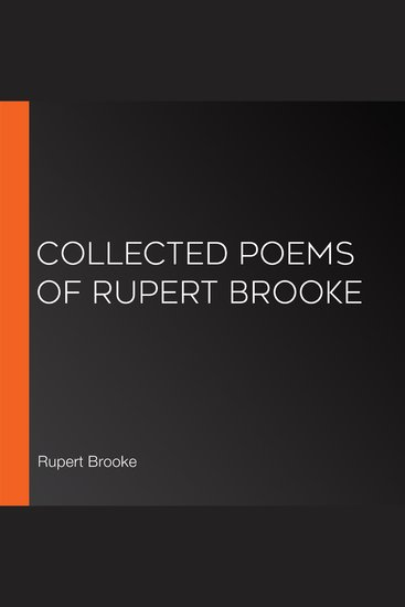 Collected Poems of Rupert Brooke - cover