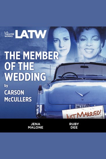 The Member of the Wedding - cover