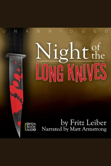 Night of the Long Knives - cover