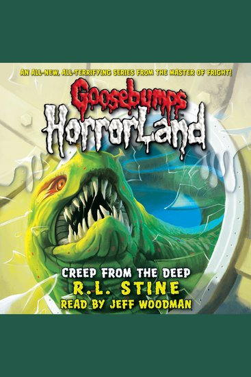 Goosebumps HorrorLand: Creep from the Deep - cover