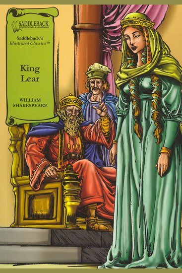 King Lear (A Graphic Novel Audio) - Graphic Shakespeare - cover