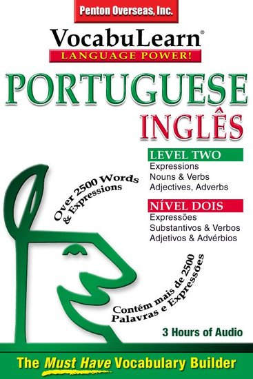 Vocabulearn: Portuguese English Level 2 - Bilingual Vocabulary Audio Series - cover