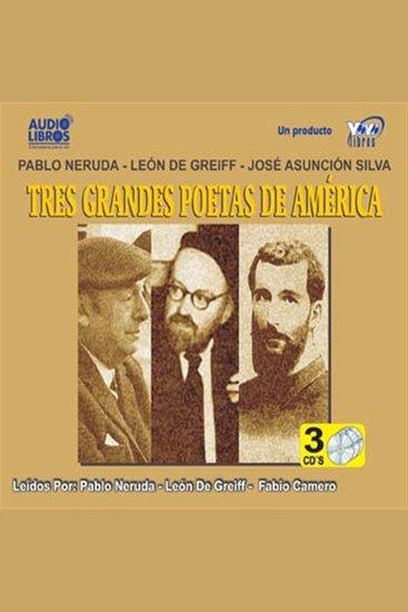 Tres Grandes Poetas De America - cover