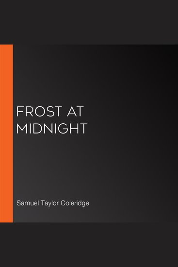 Frost at Midnight - cover