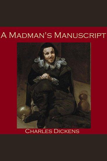 Madman's Manuscript A - cover