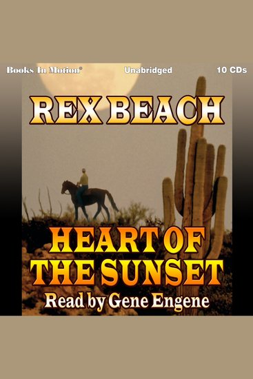 Heart of the Sunset - cover