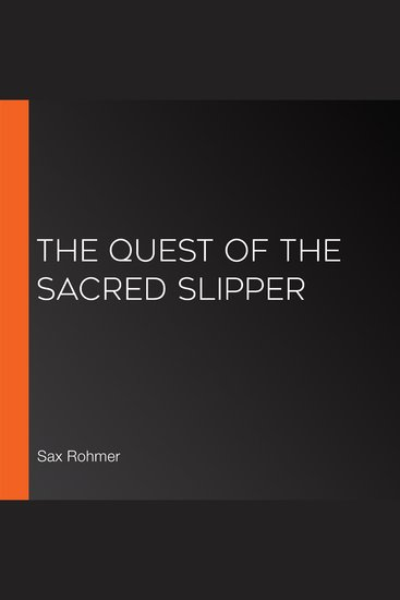The Quest of the Sacred Slipper - cover